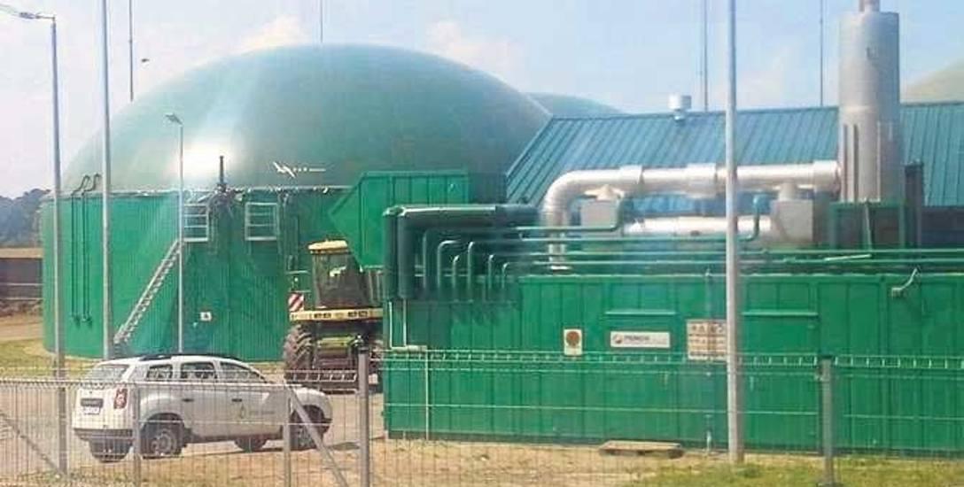 Biogazownia w Darskowie. Właścicielem obu złocienieckich biogazowni jest Polska Grupa Biogazowa