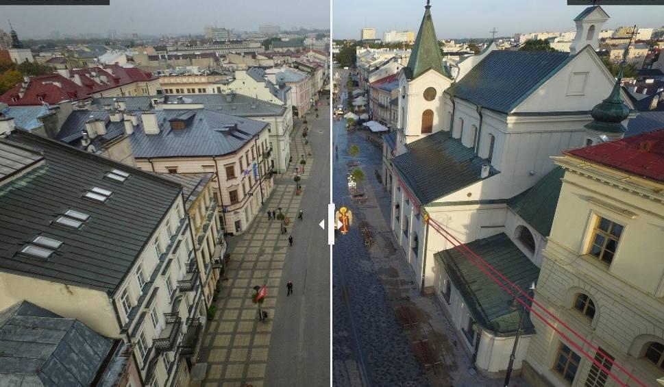 Film do artykułu: Deptak w Lublinie przed i po remoncie. Czy zmienił się na lepsze? (ZDJĘCIA Z DRONA)