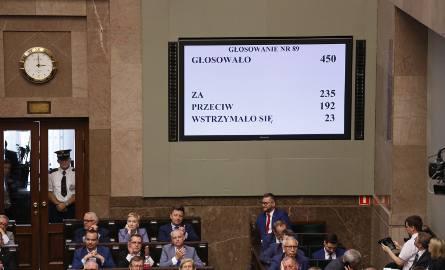 Sejm uchwalił ustawę o Sądzie Najwyższym [RELACJA NA ŻYWO]