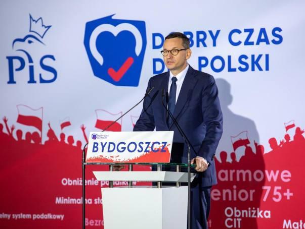 Premier Mateusz Morawiecki mówił o cudzie gospodarczym i pułapce negatywnych emocji
