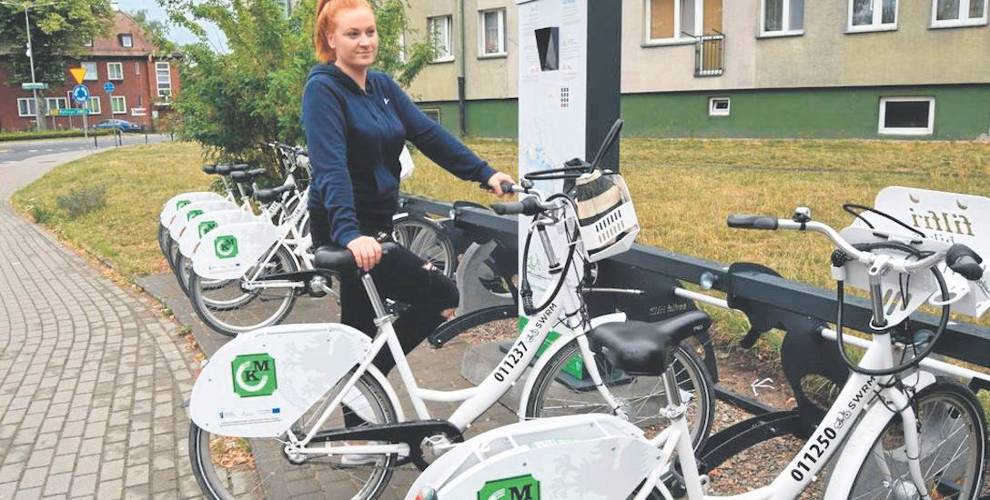 Mieszkańcy Szczecinka pokochali rower miejski. Jeżdżą nim do pracy