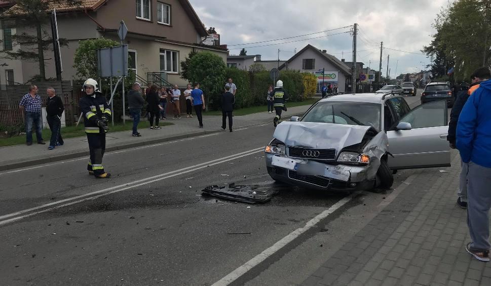 Film do artykułu: Wypadek we Władysławowie na ul. Gdańskiej (3.05.2018). Trzy samochody wjechały w siebie na wjeździe do miasta | ZDJĘCIA