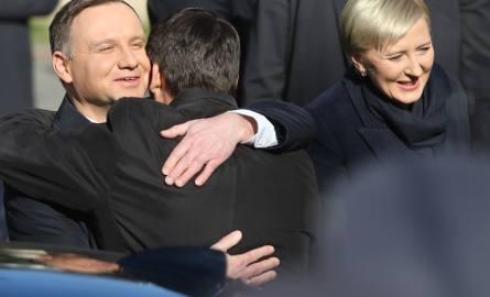 Prezydent Węgier i prezydent Polski w Piotrkowie