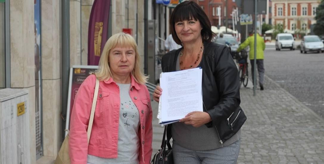 Gabriela Markowiak i Dorota Turlejska z Zarządu Osiedla Warszów zachęcają do głosowania