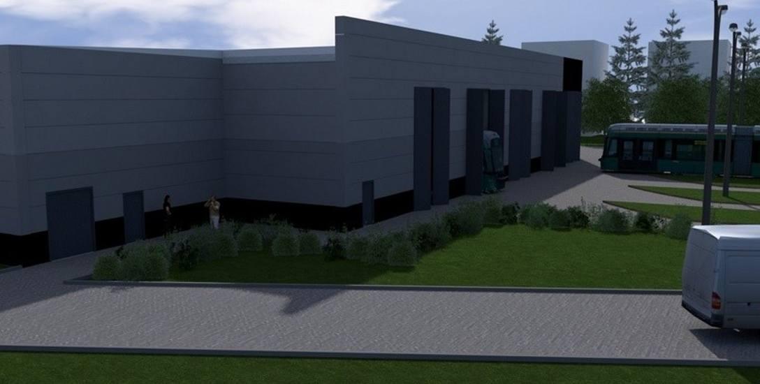 Nowa hala serwisowa jest gotowa w 40 proc. Oddanie jej do użytku jest planowane na koniec roku.