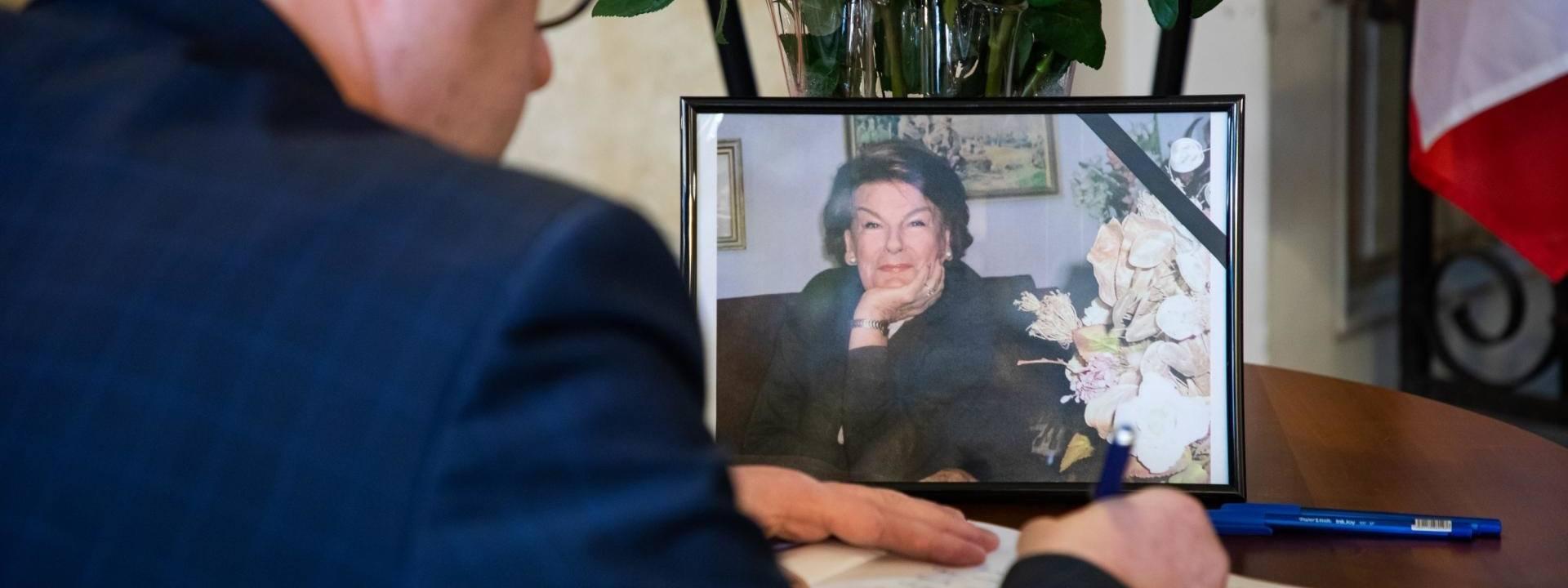 Księga kondolencyjna w związku ze śmiercią Marii Koterbskiej jest wystawiona w bielskim Ratuszu do 28 stycznia