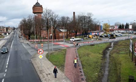Centrum przesiadkowe Opole Wschodnie - zamknięcie ulicy Rataja