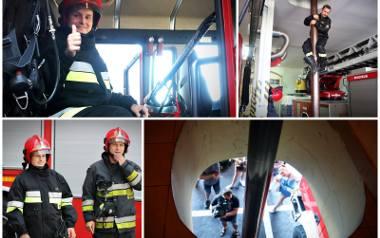 Szesnastoletni Jakub przez jeden dzień był strażakiem. Tak spełniło się jego marzenie [WIDEO, ZDJĘCIA]