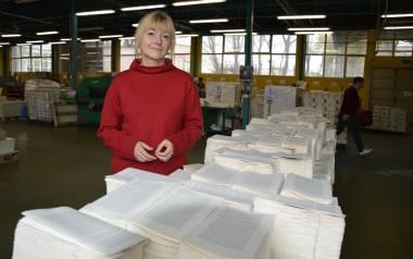 Ewa Zaleska podkreśla, że celem ich działań jest ratowanie drukarni i pracowników.