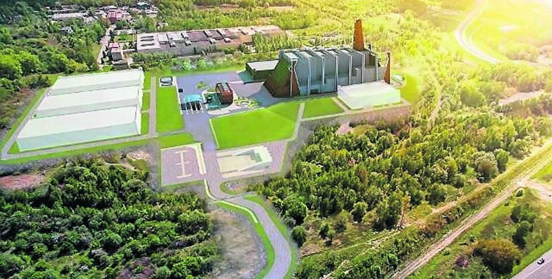 Ekologiczne centrum odzysku miałoby powstać na 16-hektarowej działce w rejonie DTŚ