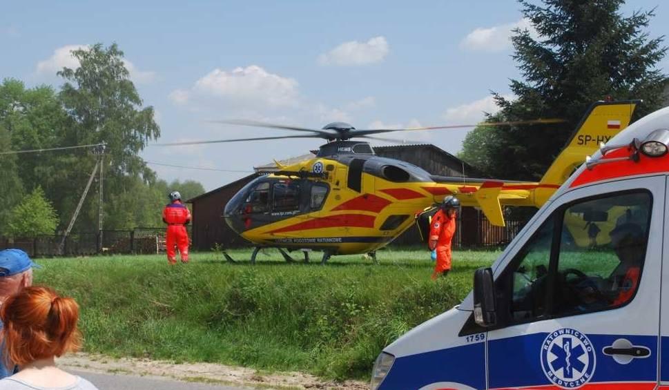 Film do artykułu: Groźny wypadek w Jagodnem. Sześć osób w szpitalu