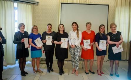 Mistrzowie Handlu 2019 w kategorii Sprzedawca Roku na szczeblu powiatów – Grażyna Doroszkiewicz, Julita Klimiuk, Agnieszka Krupińska, Urszula Michalska,