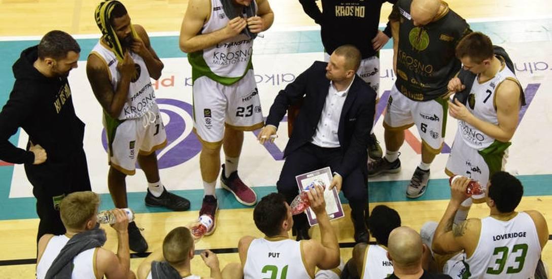 Mariusz Niedbalski, trener koszykarzy Miasta Szkła Krosno: Hinds wyeliminował się sam