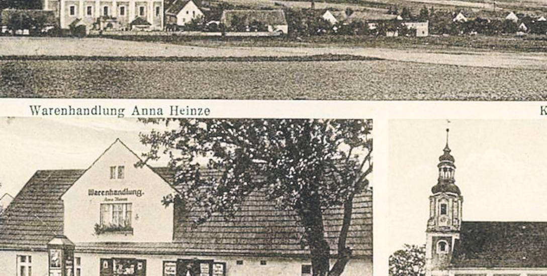 Kartka pocztowa z Braszowic pod Ząbkowicami Śląskimi, z lat 20. XX wieku