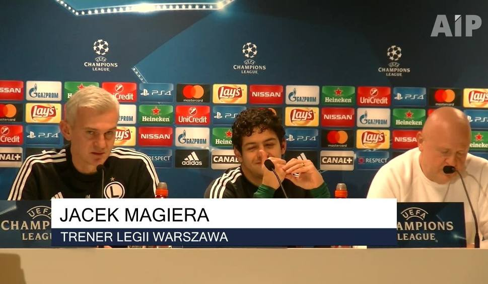 """Film do artykułu: Legia - Sporting. """"Tylko im nie strzeliliśmy jeszcze gola. Chcemy to zmienić i awansować"""""""