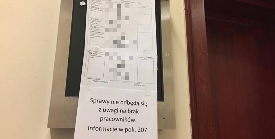 Praca Sądu Rejonowego w Opolu sparaliżowana - urzędnicy wzięli zwolnienia lekarskie