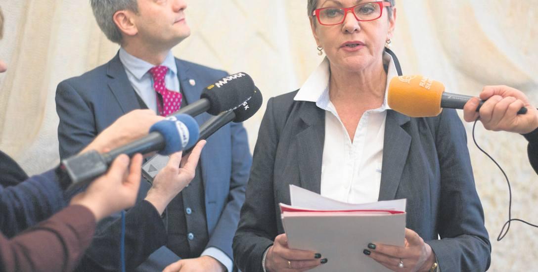 O uzupełniającym  naborze do przedszkoli Krystyna Danilecka-Wojewódzka  poinformowała   podczas poniedziałkowej konferencji prasowej w ratuszu