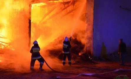 Potężny pożar tartaku na Podhalu! ZDJĘCIA