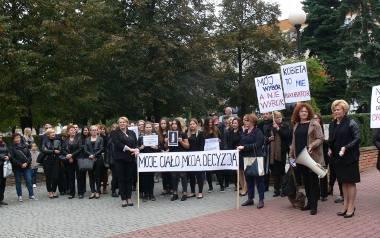 Czarny Protest. Kobiety strajkowały w Tarnobrzegu (ZDJĘCIA)