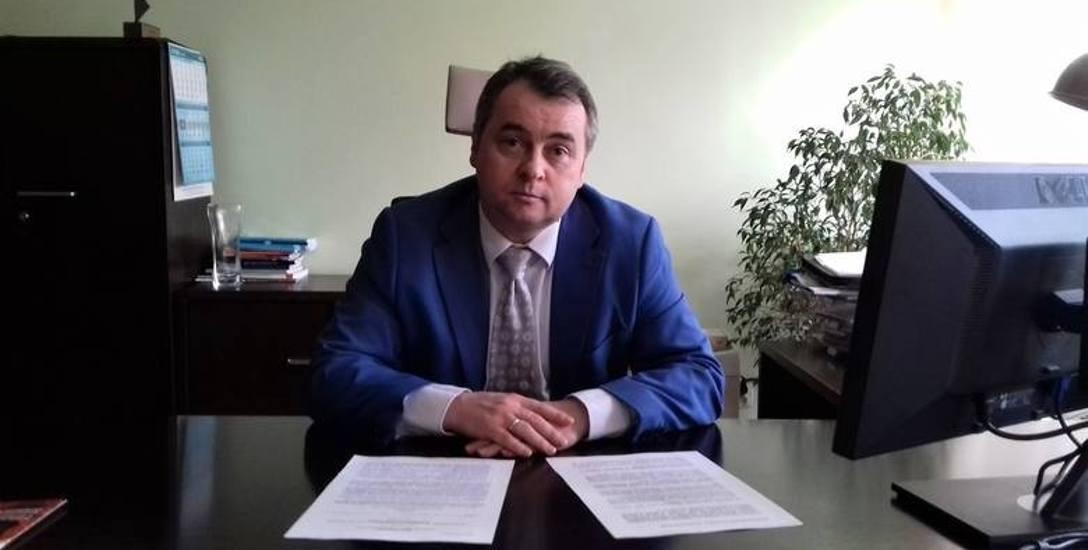 Inspektor Waldemar Adametz, wicedyrektor Okręgowego Inspektoratu Pracy w Bydgoszczy.