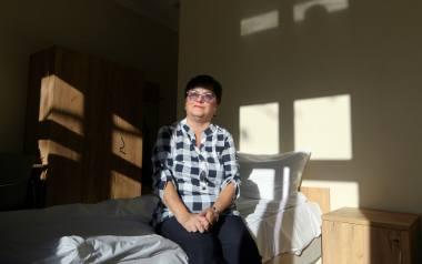 Pani Franciszka Stanisława Kręglicka skończyła właśnie serię radioterapii w szpitalu nr 1 w Lublinie