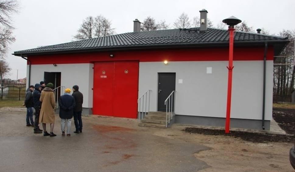 Film do artykułu: Gmina Przytyk. Ochotnicza Straż Pożarna w Dębie ma ocieploną remizę