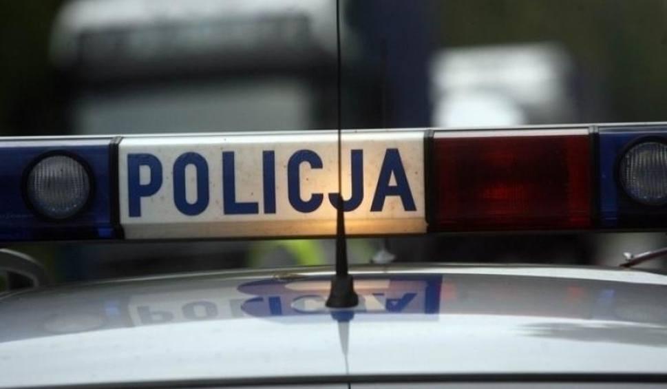 Film do artykułu: Grębów, powiat tarnobrzeski. Policyjny pościg za pijanym kierowcą opla vectry