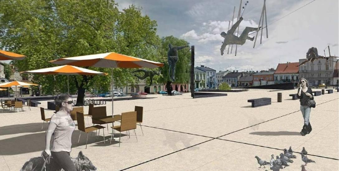Tak ma wyglądać po rewitalizacji Stary Rynek w Częstochowie