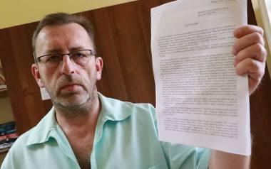 - Pod listem podpisało się między innymi sześciu kierowników oddziałów - mówi Maciej Aftowicz.