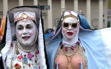 Transseksualne zakonnice i lalki barbie na paradzie równości
