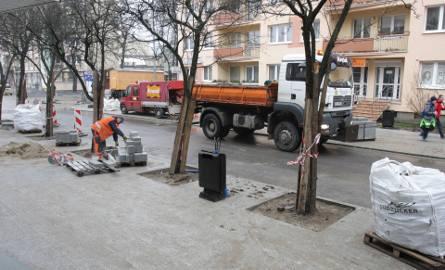 Remont na ulicy Mostnika w Słupsku.