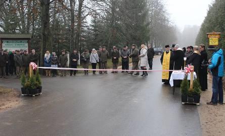 Nadleśnictwo i gmina wspólnie zbudowały drogę Szastały - Szkółka Grabowiec