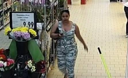 Ta kobieta podejrzewana jest przywłaszczenie saszetki w Zabrzu