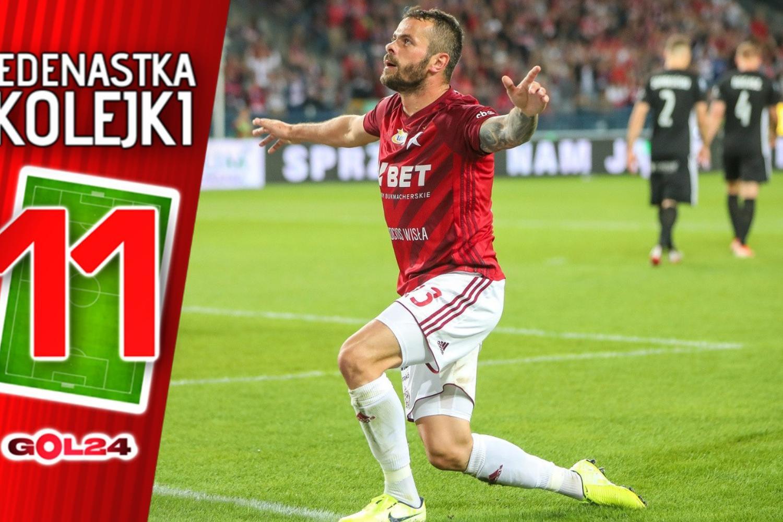 Wisła zmiotła ŁKS. Jedenastka 5. kolejki Ekstraklasy