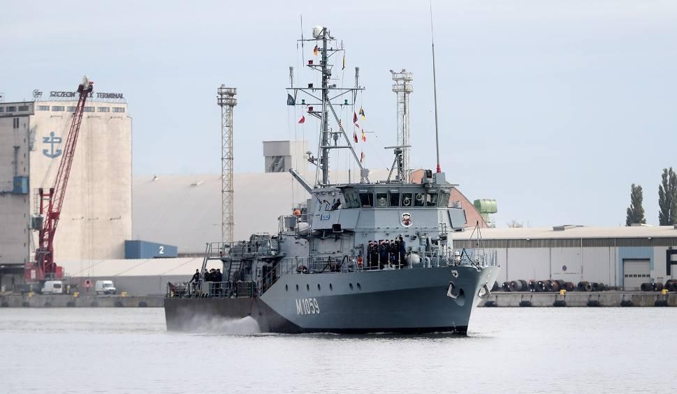 Film do artykułu: 20-lecie Korpusu NATO w Szczecinie. Okręty wojenne przy Wałach Chrobrego. W weekend można je zwiedzać