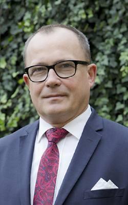 Adam Serwatka, burmistrz miasta i gminy Kłecko
