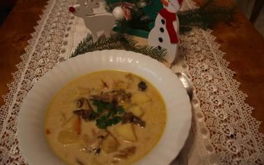 Wigilijna zupa grzybowa z ziemniakami Koła Gospodyń Wiejskich [PRZEPIS]