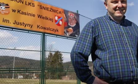 Rafał Kubowicz: - Stadion nazwaliśmy imieniem Justyny, bo rozsławiła naszą wieś w całym świecie.
