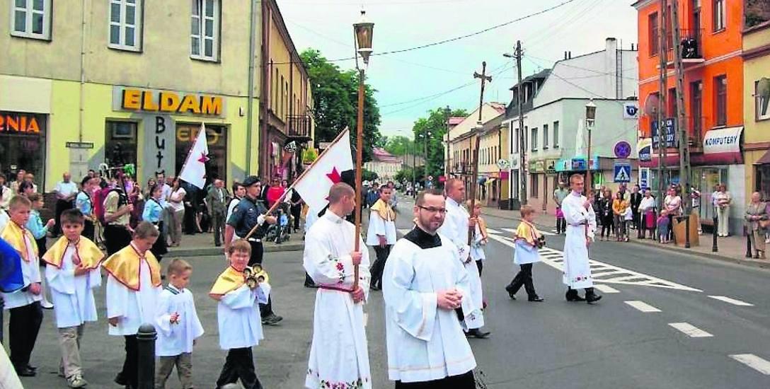 Tym razem w procesji wziąć udział mają tylko duchowni