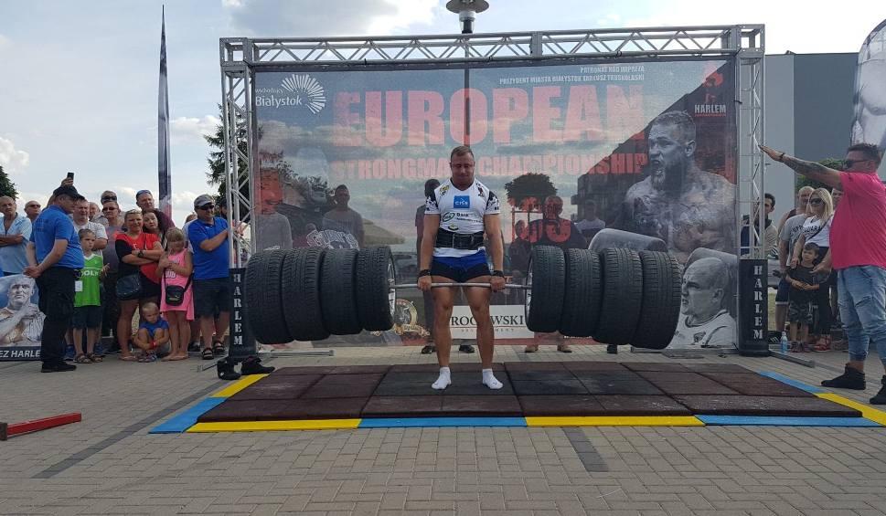 Film do artykułu: Strongman Szczepan Krzesiński ze Świebodzina na podium Pucharu Narodów w Jelczu-Laskowicach