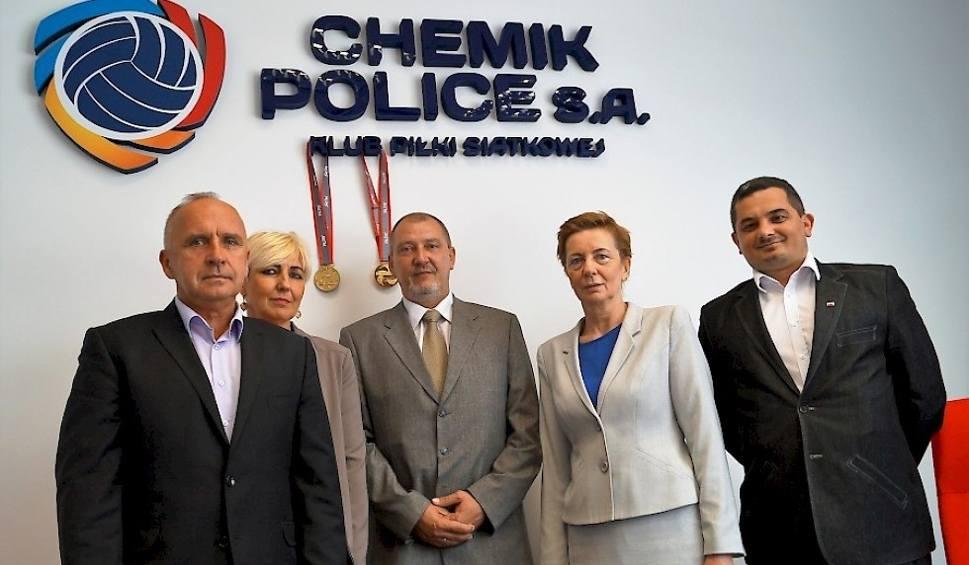 Film do artykułu: Chemik Police ma nowego prezesa