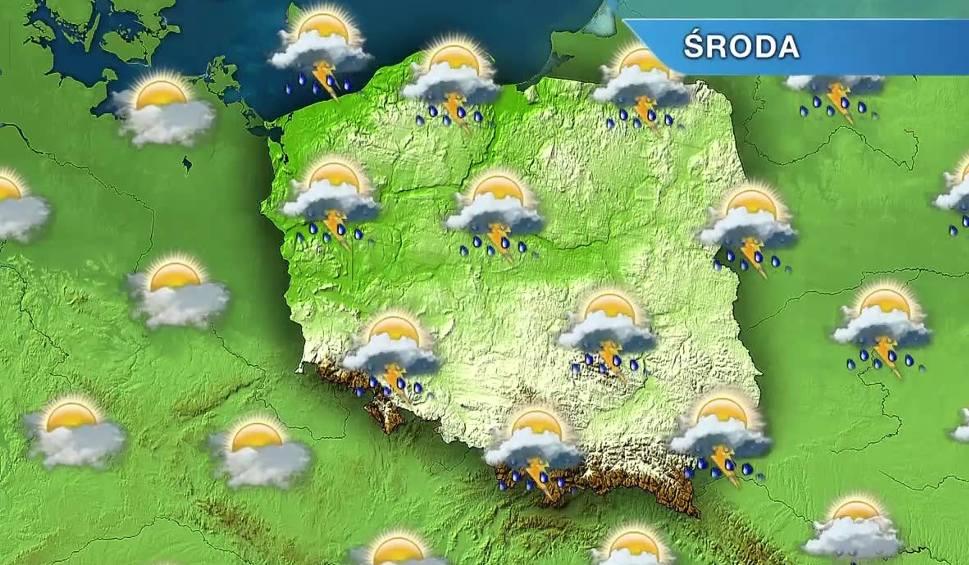 Film do artykułu: Pogoda w Opolu i na Opolszczyźnie. Środa pochmurna i deszczowa