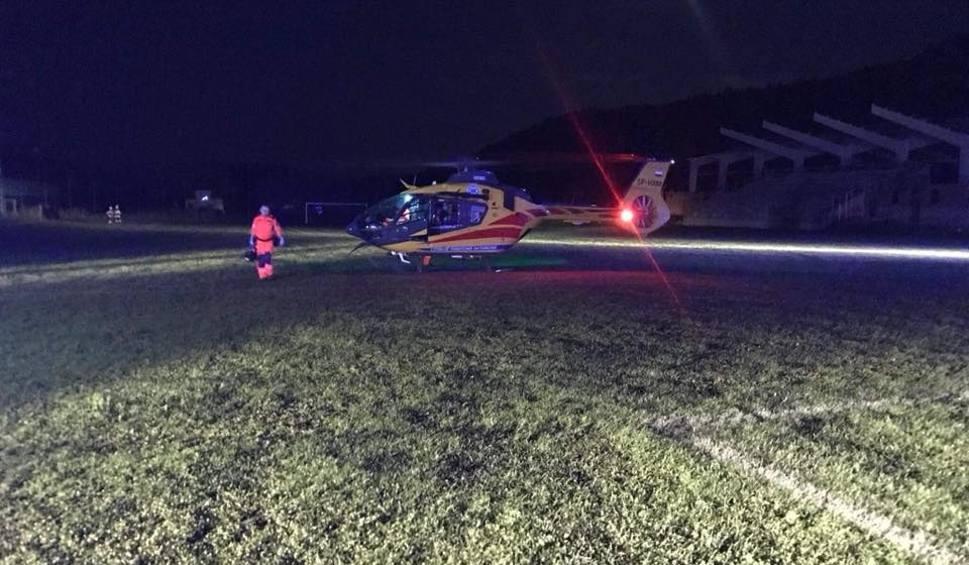 Film do artykułu: Wypadek zakopiańczyka na torze motocrossowym w Kamienicy