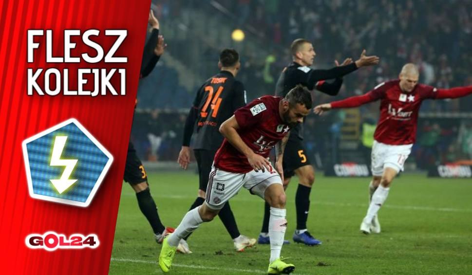 Film do artykułu: Flesz 15. kolejki Ekstraklasy: Lechia powiększa przewagę, remis w hicie kolejki