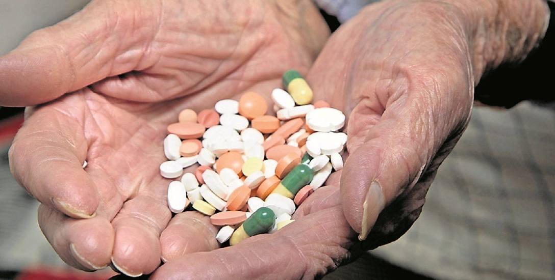 Na początek zaproponowano darmowe leki stosowane głównie w geriatrii.
