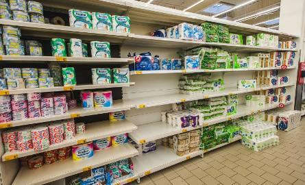 W pierwszym tygodniu marcowego szturmu zakupowego sprzedaż papieru toaletowego w sklepach handlu tradycyjnego wzrosła z tygodnia na tydzień o 263 pr