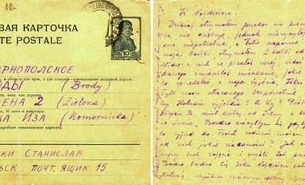Ostatnią kartkę ze Starobielska Stanisław Komornicki wysłał 3 kwietnia 1940 roku