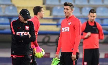 Reprezentacja Polski jest już po ostatnim treningu przed meczem z Czarnogórą.