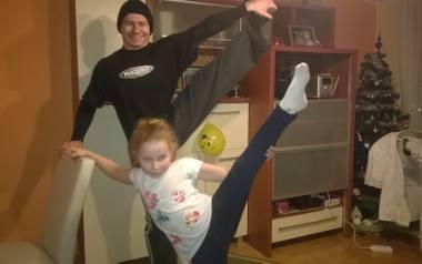 Sport jest zaraźliwy. Tata Krzysztof zaraził swoją córkę, która startować zaczęła, jak miała pięć lat. Dajmy dzieciom dobre wzorce, tak jak pan Krzy