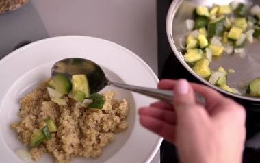 Komosa ryżowa nazywana jest wegetariańskim białkiem